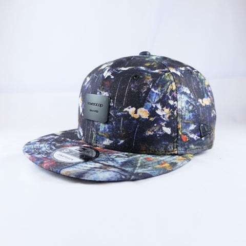 New Era Brand Dark Floral 9Fifty Snapback Cap