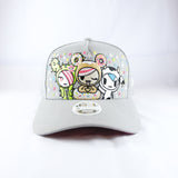 Tokidoki Super Confetti Grey New Era 9Forty Women's Snapback Cap