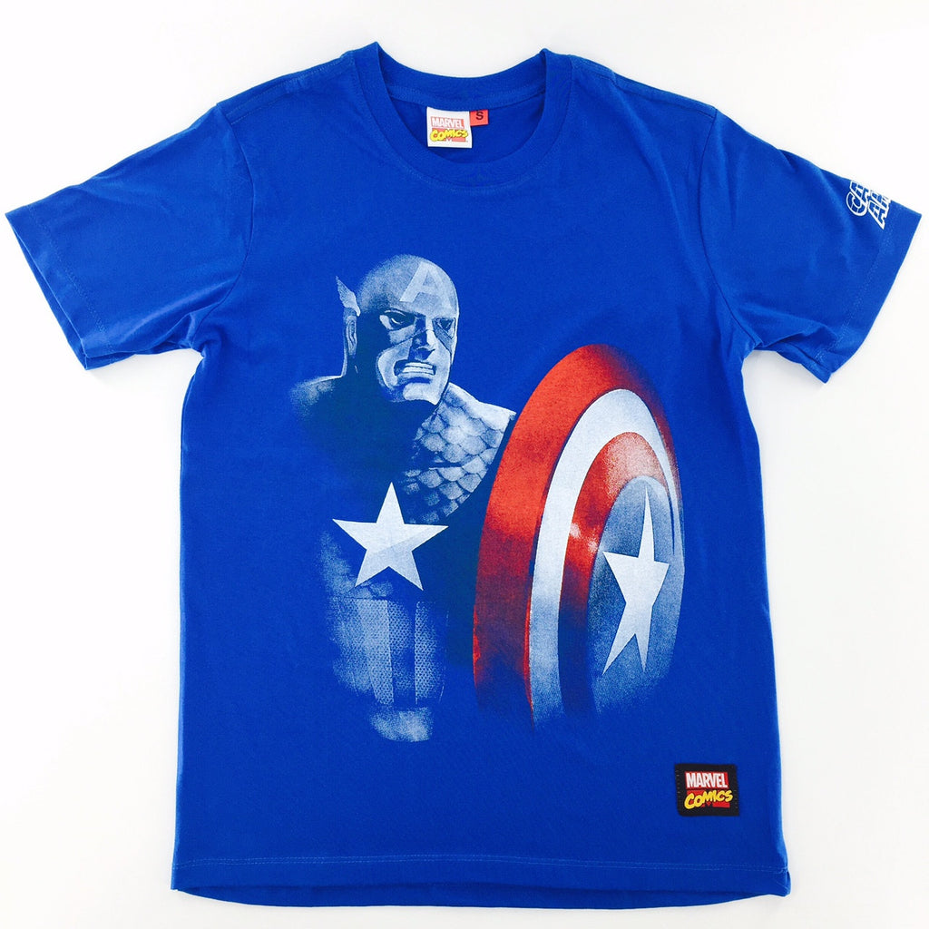 Marvel Captain America Silhoutte T-Shirt