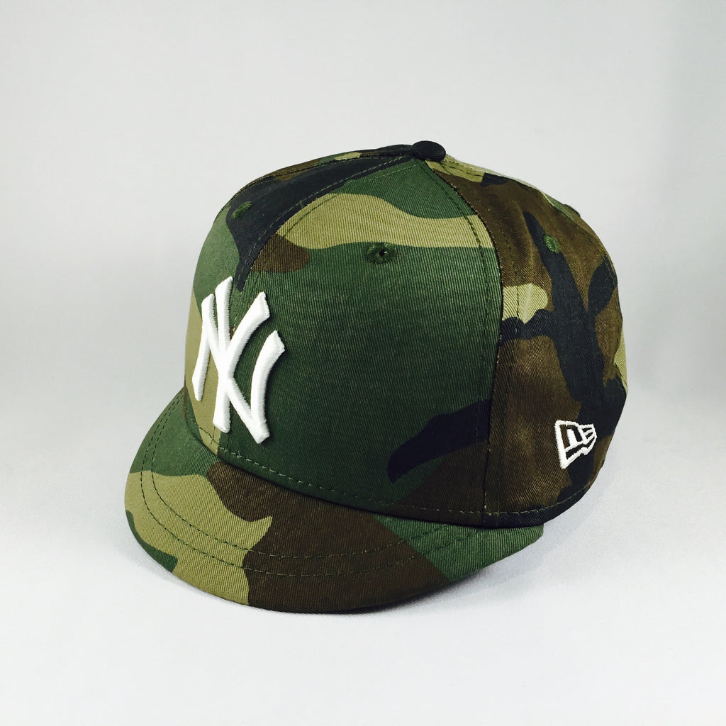 Umpire 505 MLB New York Yankees Camo New Era 9Fifty Snapback Cap
