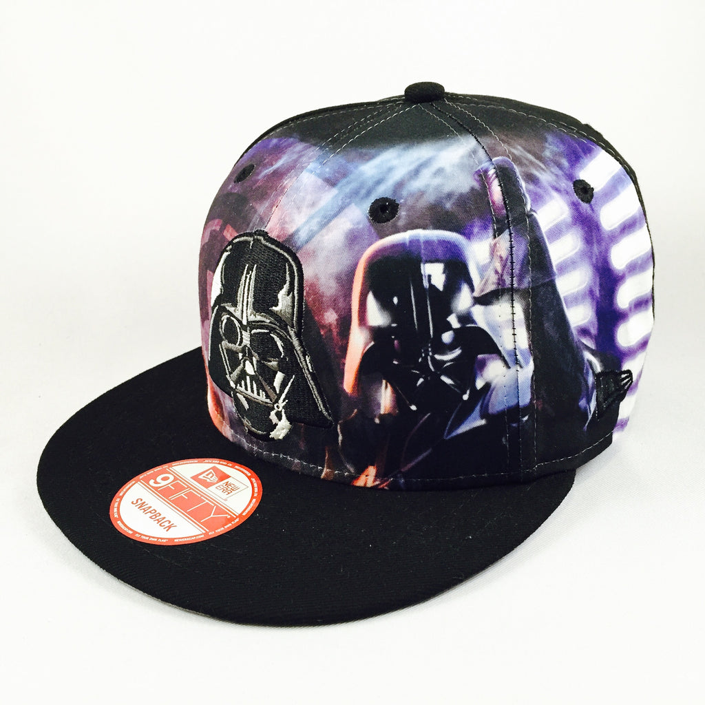 Logo Fronted Star Wars Darth Vader New Era 9Fifty Snapback Cap