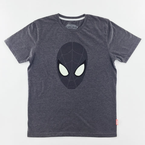 PREMIUM Marvel Spider-Man Head Glow-in-the-Dark T-Shirt (urban TEE Exclusive)