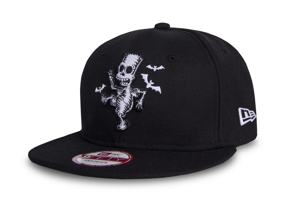 The Simpsons Bart Dancing Bones New Era 9Fifty Snapback Cap