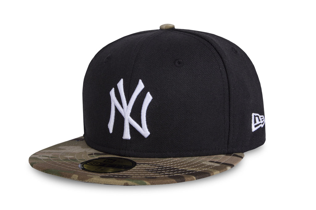 6623a7a821aea MLB New York Yankees Multicam Camo New Era 59Fifty Fitted Cap ...