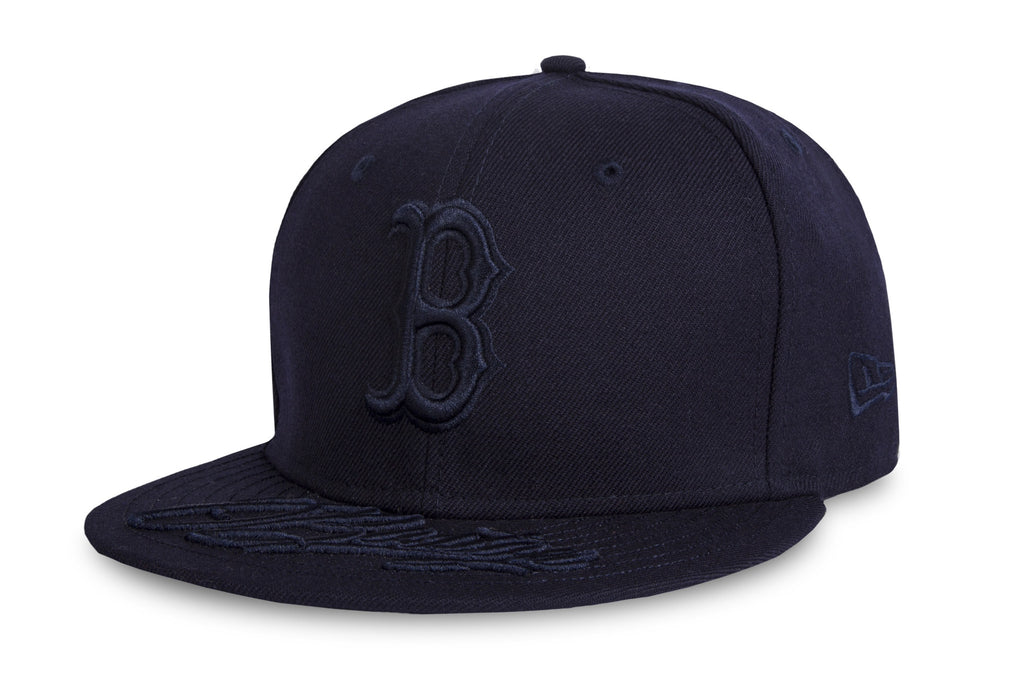 MLB Team Script Boston Red Sox New Era 9Fifty Strapback Cap