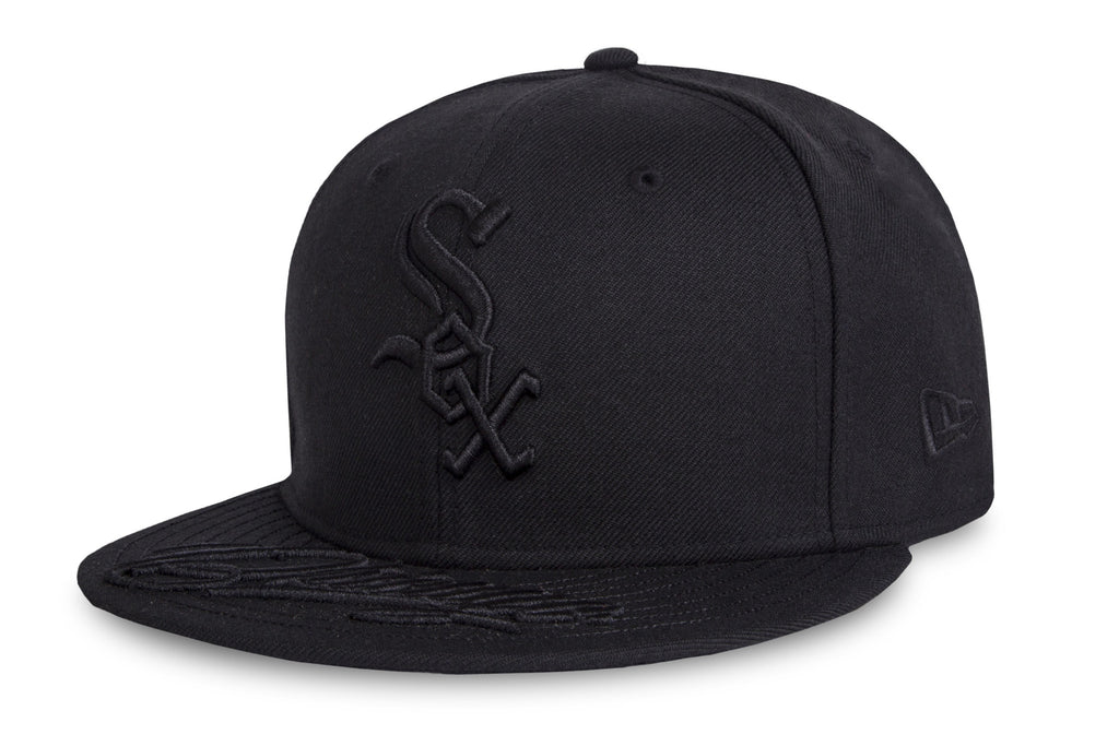 MLB Team Script Chicago White Sox New Era 9Fifty Strapback Cap
