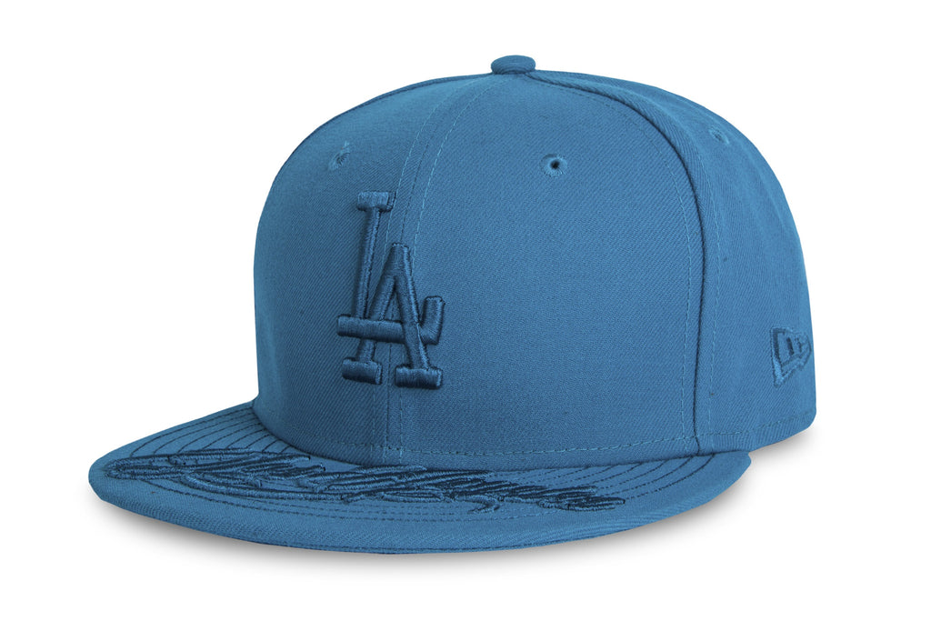 MLB Team Script Los Angeles Dodgers New Era 9Fifty Strapback Cap