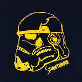 Star Wars Classic Stormtrooper Gold Gel Printed T-Shirt