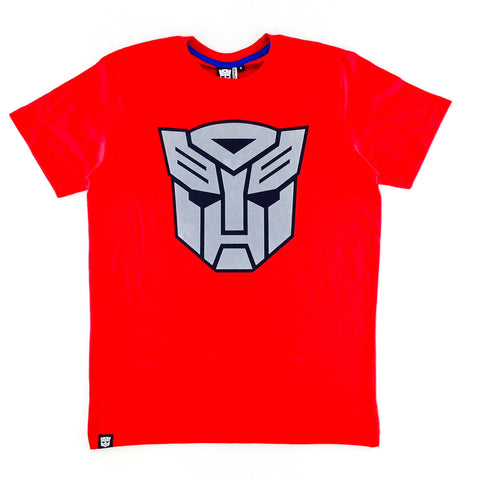 TRANSFORMERS The Last Knight Grey Flock Logo T-Shirt