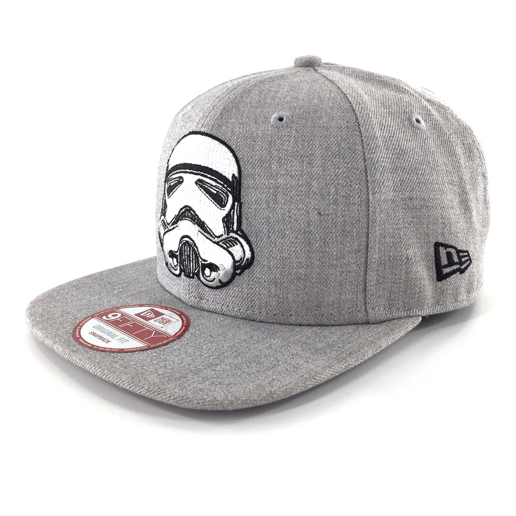Star Wars Hero Heather Stormtrooper 9Fifty Snapback Cap