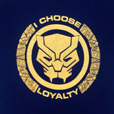 PREMIUM Marvel BLACK PANTHER I CHOOSE LOYALTY T-Shirt