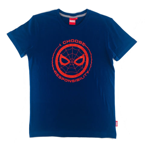 PREMIUM Marvel SPIDER-MAN I CHOOSE RESPONSIBILITY T-Shirt