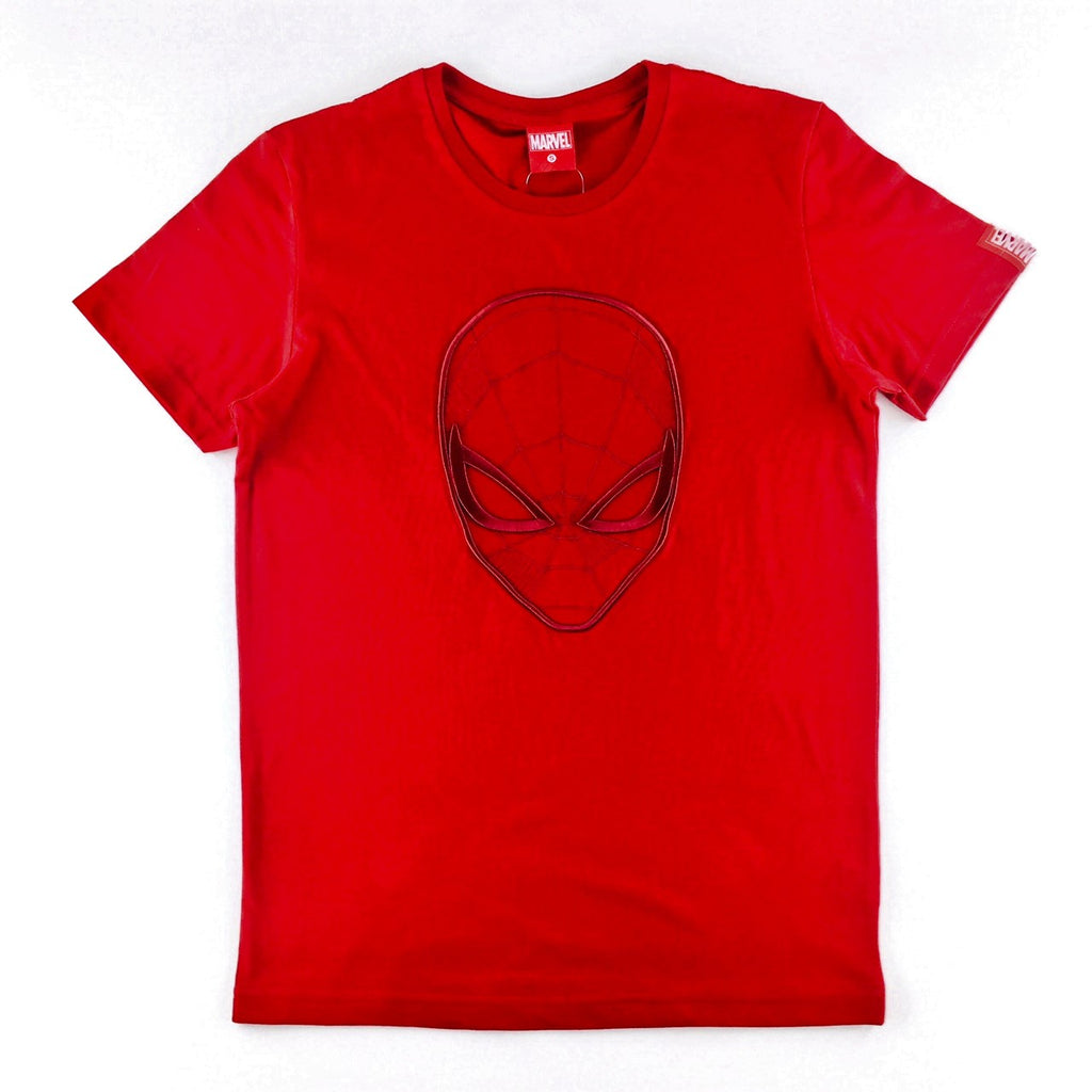 PREMIUM Marvel Spider-Man Embroidered Portrait T-Shirt