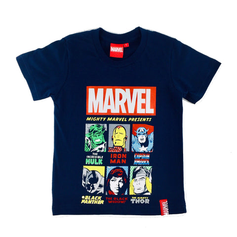 MARVEL COMICS 6 MIGHTY HEROES KIDS T-Shirt