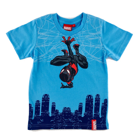 MARVEL COMICS SPIDER-MAN Sky Scraper KIDS T-Shirt