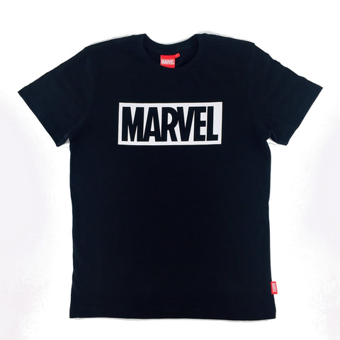 MARVEL BASIC LOGO Black T-Shirt