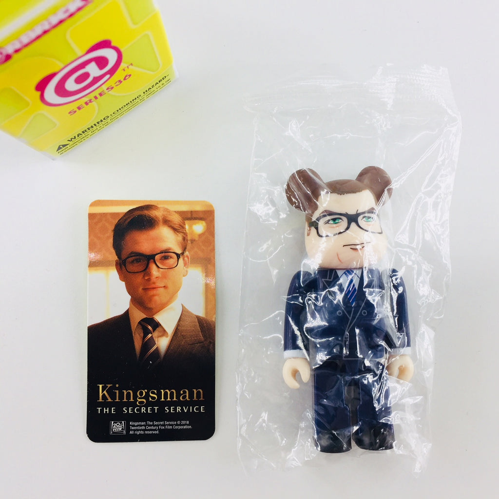 BEARBRICK Series 36 - SECRET HERO (Kingsman)