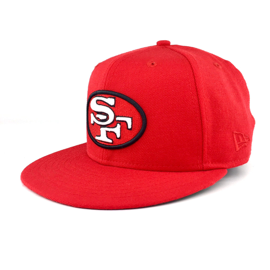 Heritage Series Bay Area NFL San Francisco 49ers Red New Era 59Fifty F –  urban TEE fda2f7e19