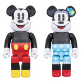 BEARBRICK 400% Mickey Mouse & Minnie