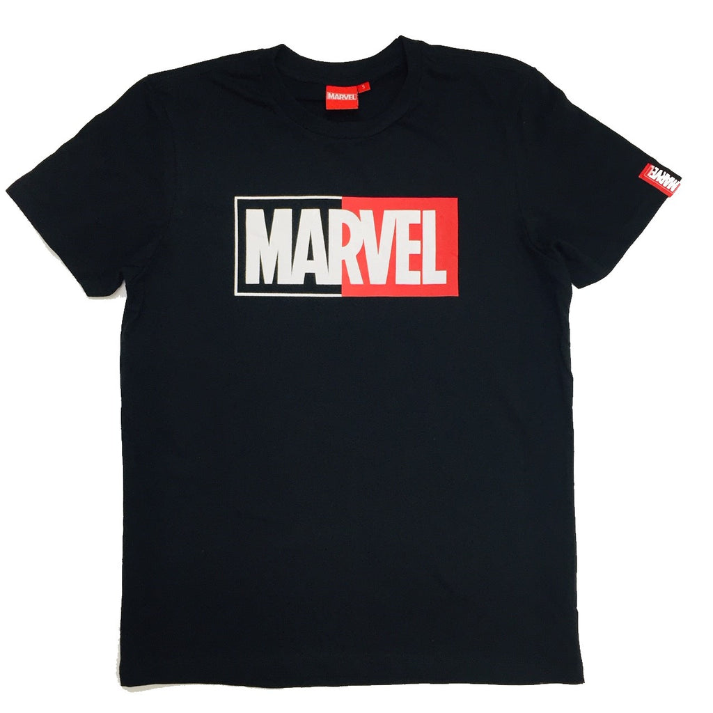 PREMIUM Marvel Basic Half Logo T-Shirt