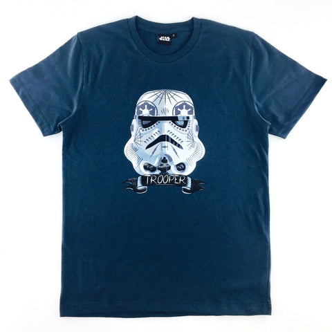 Star Wars Stormtrooper Pop Art Helmet T-Shirt