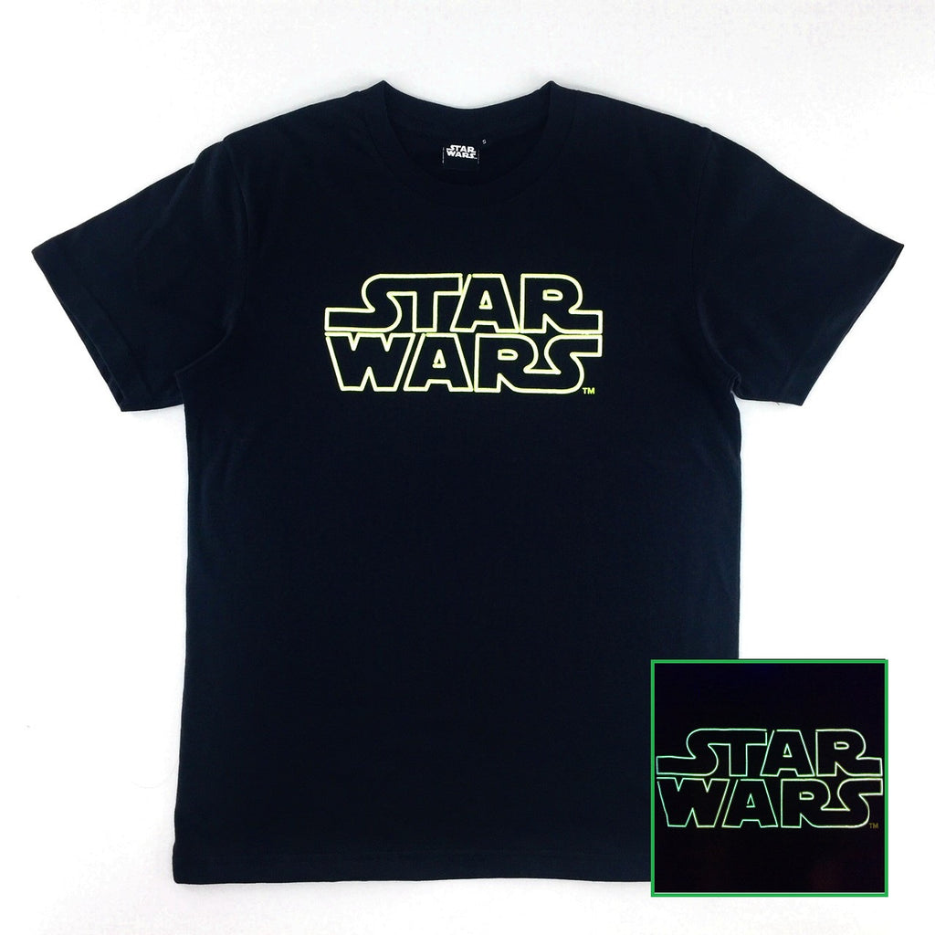 Star Wars Basic Logo Glow-in-the-Dark T-Shirt