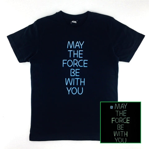 Star Wars May The Force Be With You Glow-in-the-Dark T-Shirt