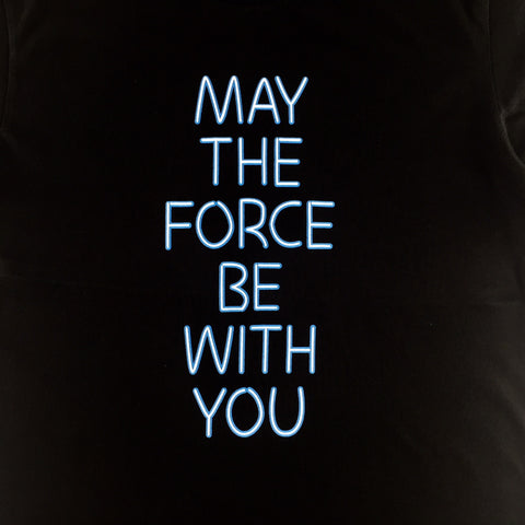 Star Wars May The Force Be With You Glow In The Dark T Shirt Urban Tee