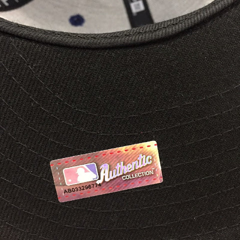 new products 3e08c e81dd ... MLB Authentic Collection Texas Rangers New Era 59Fifty Fitted Cap ...