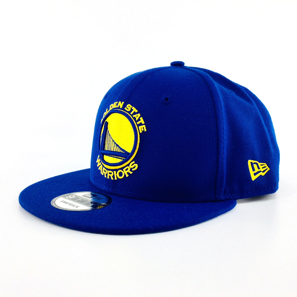 NBA Basic Golden State Warriors Royal Blue New Era 9Fifty Snapback Cap