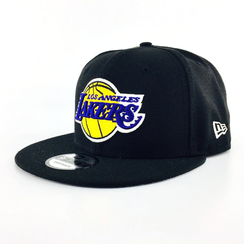 NBA Basic Los Angeles Black New Era 9Fifty Snapback Cap