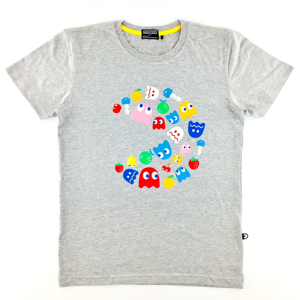 PAC-MAN All-Star Melange Grey T-Shirt