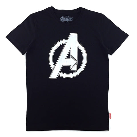 PREMIUM Marvel x urban TEE AVENGERS HIGH DENSITY Logo T-Shirt