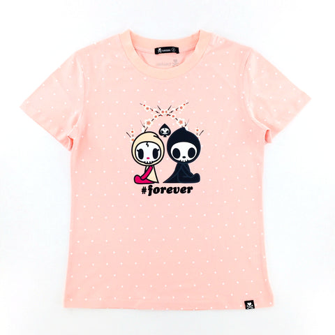 Tokidoki Adios & Ciao #Forever Pink Female T-Shirt