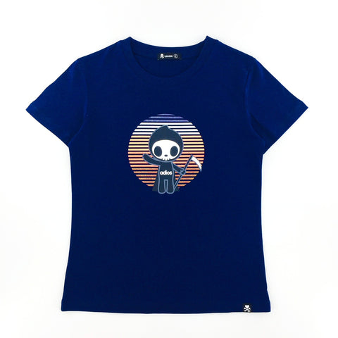 Tokidoki Adios Greetings Navy Female T-Shirt