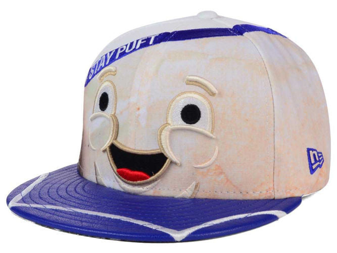 Ghostbusters Stay Puft Character Face New Era 59Fifty Fitted Cap