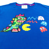 Tokidoki x Pac-Man Kaiju Ghost Hunting Royal Blue Unisex T-Shirt