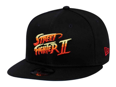 STREET FIGHTER 2 Logo New Era 9Fifty Snapback Cap