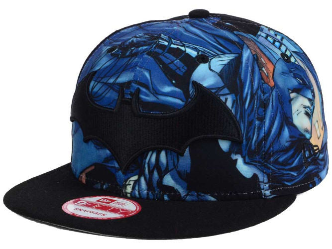 Logo Fronted DC Comics Batman New Era 9Fifty Snapback Cap