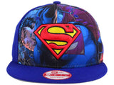 DC Comics Logo Fronted Superman New Era 9Fifty Snapback Cap