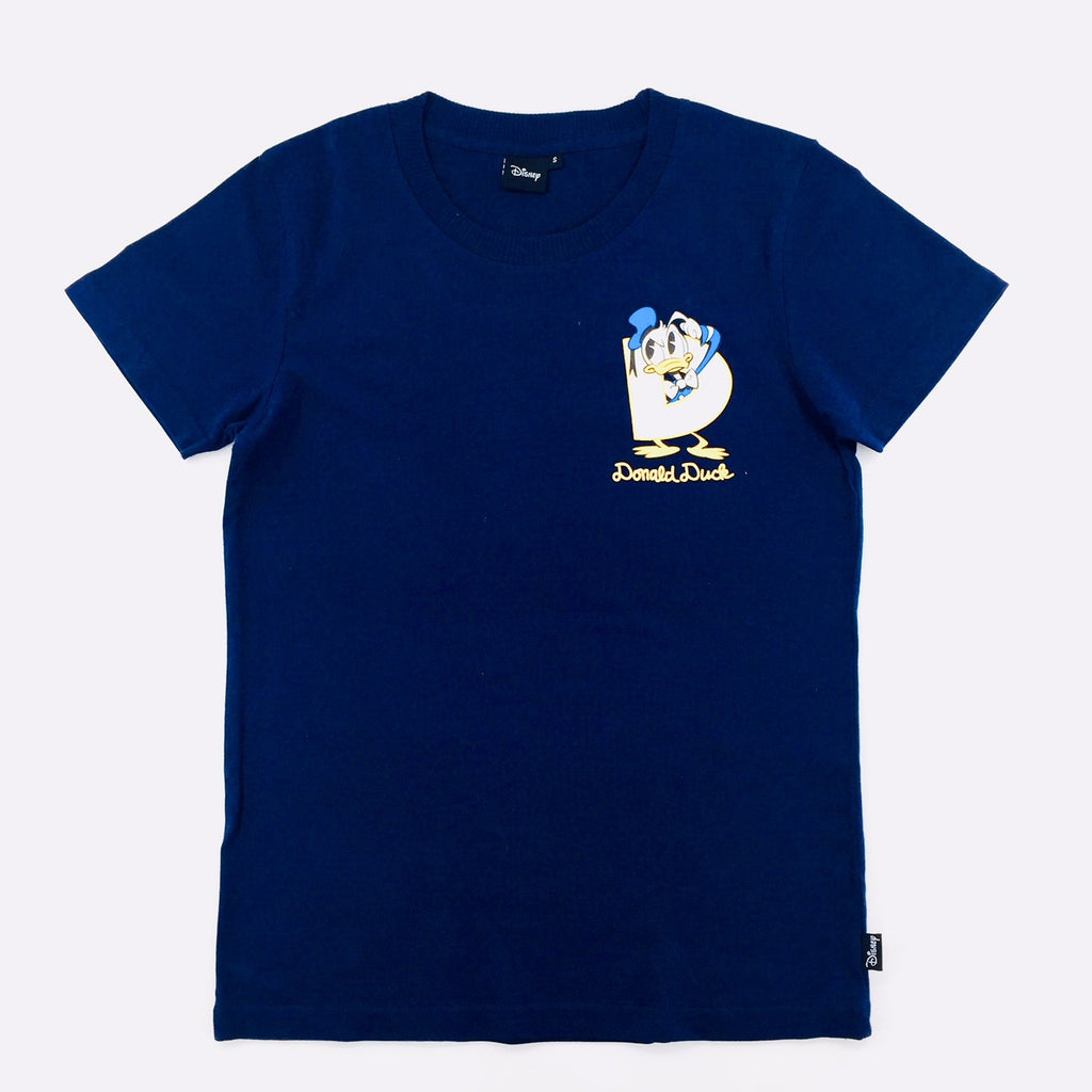 Disney Donald Duck D Logo T-Shirt