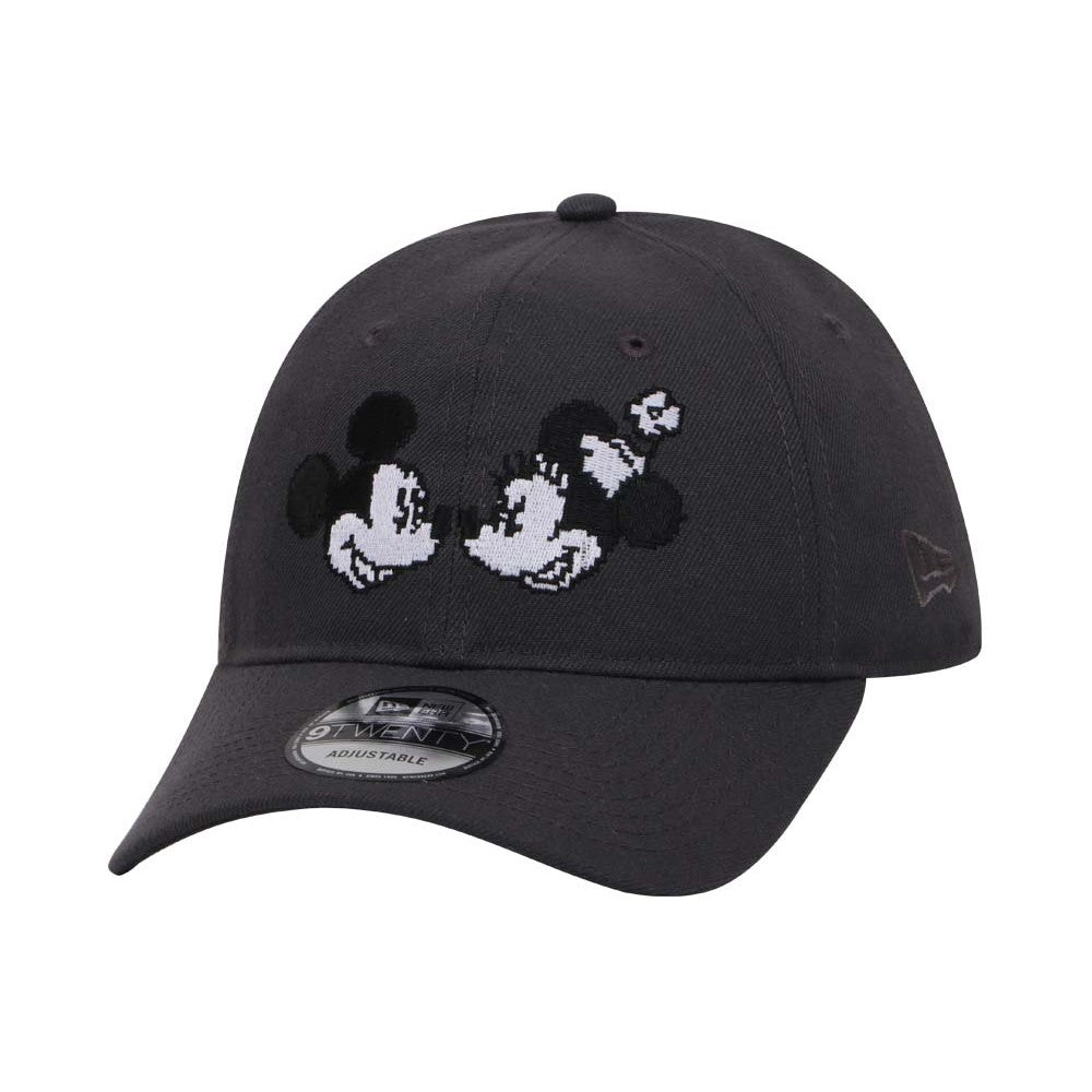 Disney Mickey & Minnie Pixelated New Era 9Twenty Strapback Cap