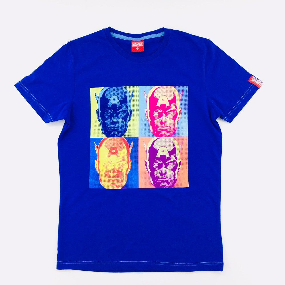 PREMIUM Marvel Captain America Pop Art T-Shirt