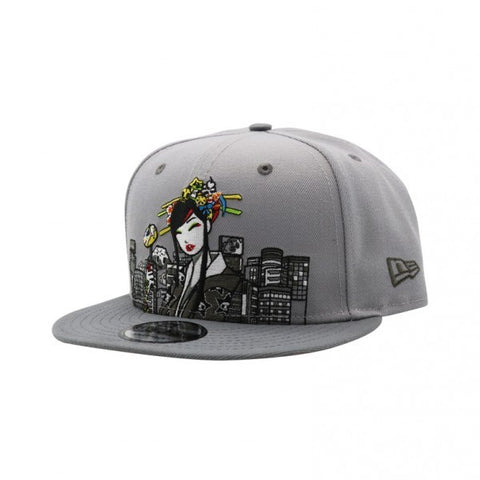new product a0aef a1c03 Sold Out Tokidoki City Scape New Era 9Fifty Snapback Cap
