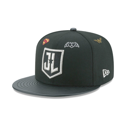 DC Comics Justice League Logo New Era 9Fifty Snapback Cap