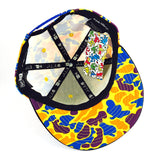 Keith Haring Baby Yellow Camo New Era 9Fifty Snapback Cap