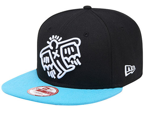 Keith Haring Fly Blue New Era 9Fifty Snapback Cap