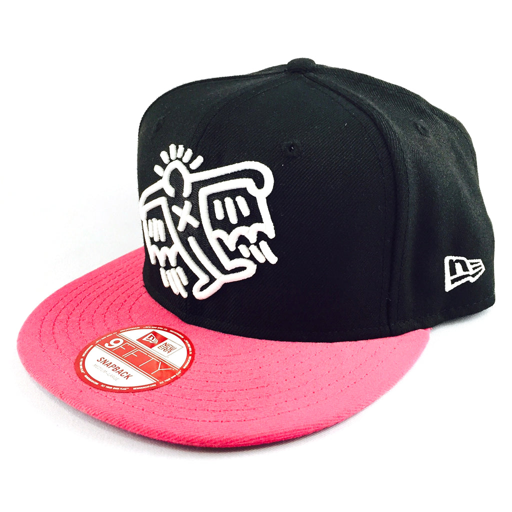 Keith Haring Fly Pink New Era 9Fifty Snapback Cap