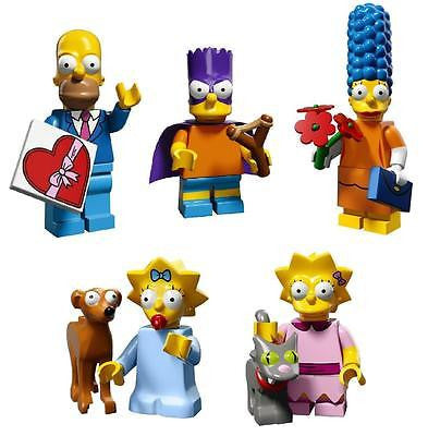 LEGO The Simpsons Minifigures Series 2 Family of 5
