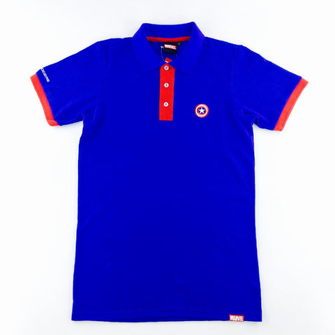 PREMIUM Marvel Captain America Polo T-Shirt